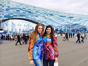 Kristina Lyakhova '10 (Volograd) and  Yuliya Kuzmicheva'13 (Budennovsk)