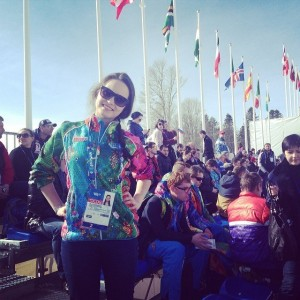 Alena Ponomareva'11 with fans