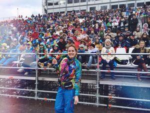 Diana Shcherban'13 with fans