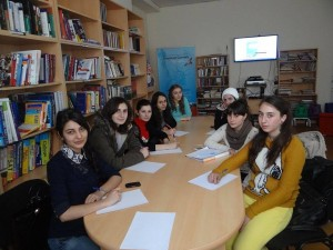 Alumni in Vanadzor, Armenia took part in a grant writing seminar organized by CR Lusine Snkhchyan.