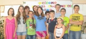 English Awesomeness Camp-group photo
