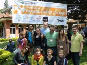 sm 2012 Global Voices Citizen Media Summit in Nairobi, Kenya - GV Central and Eastern Europe Team