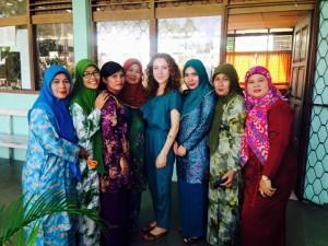 The teachers of Tanjungpinang SMA 2 High School