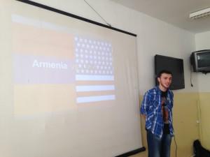 Armenia Vanadzor Arsen Mazmanyan comparing Armenian and U.S. Education systems