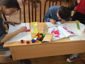 Lusine Snkhchyan - Snkhchyan_Lusine_FLEX Alumni GYSD Children Painting