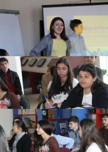 Mariam Ghvamichava - FLEX Alumni Rima Beridze '11 talking about Future opportunities