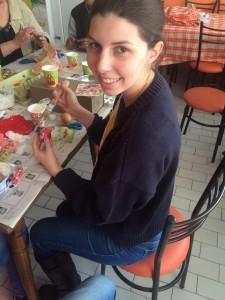 Nevena Dakovic - Alumni helping with decorations