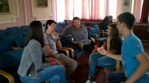 Petar Dordevic - Con team preparing their arguments