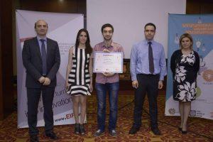 Shahen winning Triip matching grant certificate